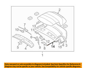 BMW OEM 03-06 Z4 Convertible/soft Top-Tension Cable Right ...