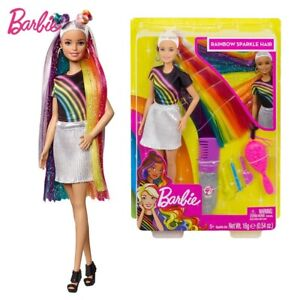 Barbie-Fashion-and-Beauty-Rainbow-Sparkle-Hair-Doll-Mattel