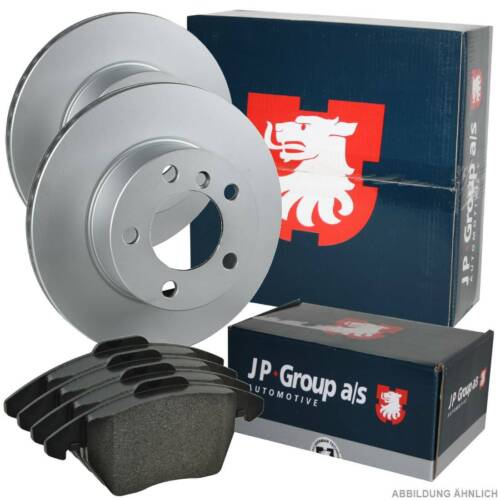 JP GROUP Bremsenset Ø270mm belüftet Bremsbeläge Vorne FORD TRANSIT