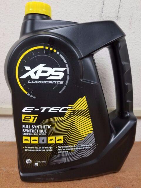 New XPS 2 Stroke Full Synthetic Engine Oil Gallon 779127 Ski Doo Single