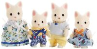 Calico Critters Silk Cat Family , New, Free Shipping