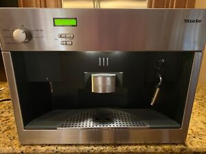 MIELE CVA 615 Built In Coffee Espresso Maker Stainless Steel. low cup count!   eBay