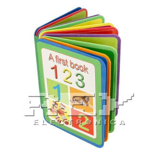 Primer Libro Números Prescolar Aprendizaje Infantil Estudio ¡Desde España j139
