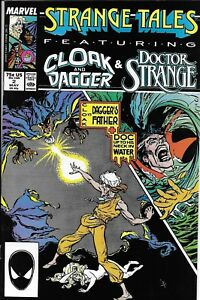 Cloak-And-Dagger-Doctor-Strange-Comic-Issue-2-Strange-Tales-Copper-Age-1987