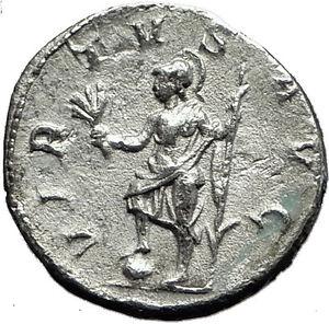 PHILIP-I-the-Arab-244AD-Rome-Silver-Ancient-Genuine-Roman-Coin-VIRTUS-i59158