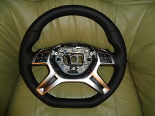 EXTREM TUNING AMG Lederlenkrad Mercedes W204 C-Klasse W166 ML GL W463 G Klasse