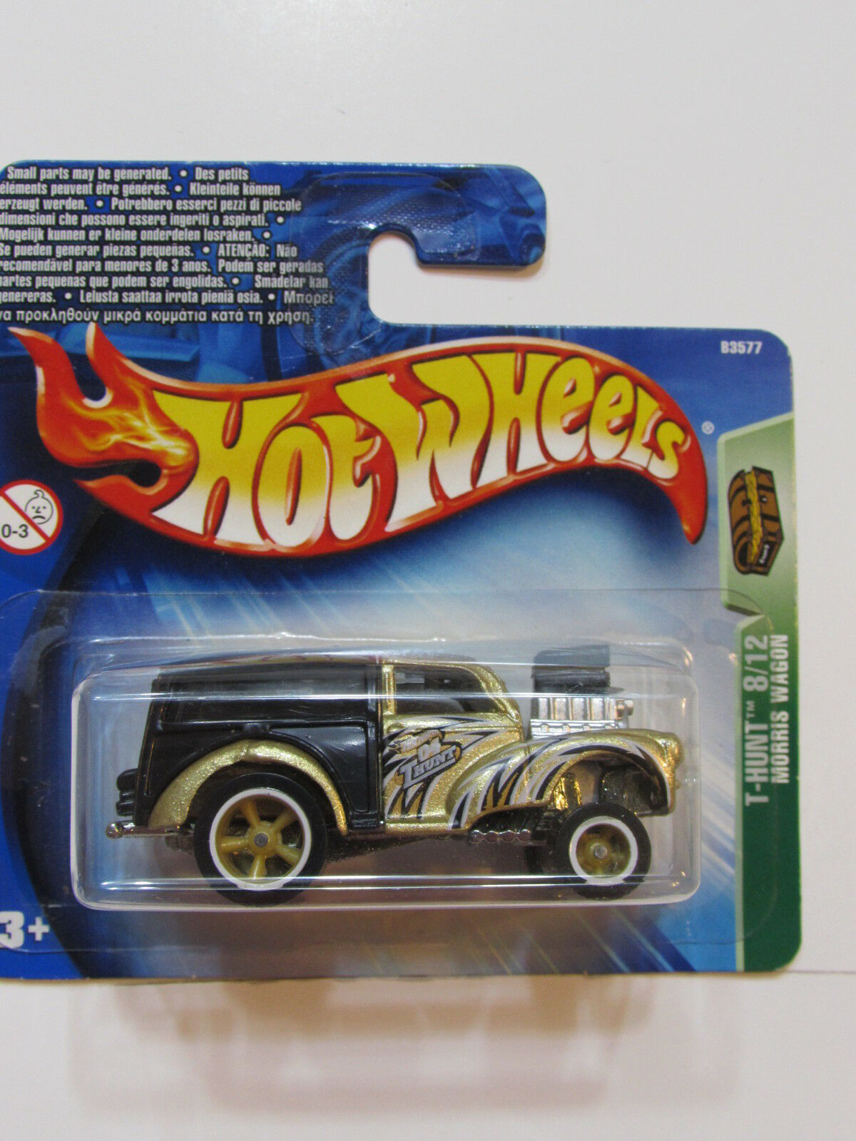 Hedendaags Treasure 2004 Wheels Hot Hunt Shortcard Wagon Morris dpck972823254 IZ-03