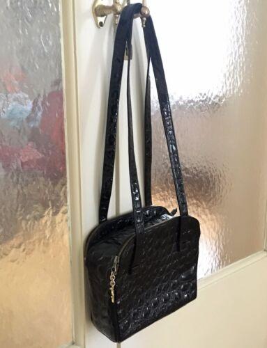 946f9f6e14068 Versace Handtasche handbag schwarz Leder Gianni Leather Original mN0nvw8