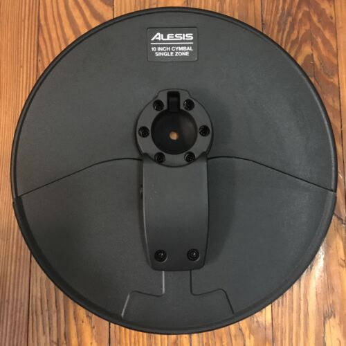 "Alesis 10/"" Cymbal NEW w//21/"" Arm 1.5/"" Clamp /& Cable Surge Hi-Hat Drum 1 Zone"
