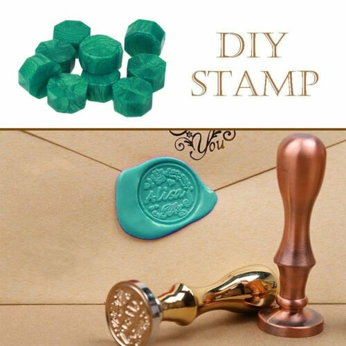 100Pcs Sealing Wax Octagon Bead For Sealing Wax Stamp Wedding Letter Card