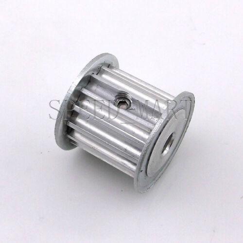 5M HTD5M Aluminum Timing Belt Pulley 15 Teeth 5mm Bore 21mm width Stepper Motor