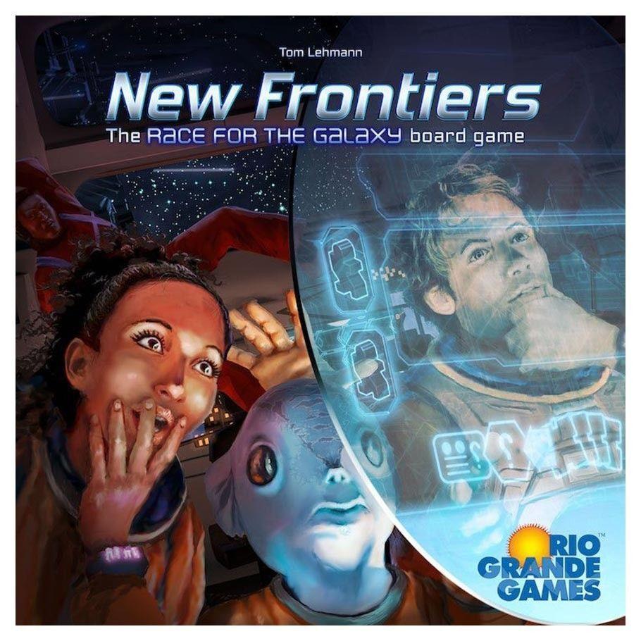Nouvelles Frontières Board jeu multijoueur stratégie Rio Grande Games RIO556