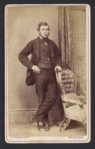 Antique-CDV-Photograph-Young-Gent-Photographed-by-Edward-Plowman-of-Maidstone