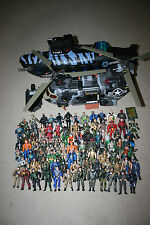 HUGE LOT Chap Mei 80+ Army Action Figures Military Helicopter & Attack Submarine