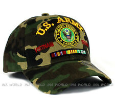 U.S. ARMY hat Military ARMY Vietnam Veteran Official Licensed Baseball cap- Camo