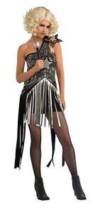 FANCY-DRESS-COSTUME-LADY-GAGA-STAR-DRESS-XS-6-8