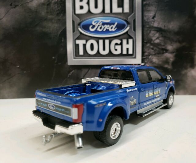 Greenlight LOOSE 2019 Blue Ford F-350 Lariat Pickup Truck w//Tow Hitch 1:64 Scale
