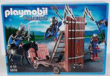 Ritter con sturmramme Playmobil Exclusiv set 5978 V.' 12 a ritterburg OVP nuevo