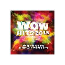 WOW Hits 2015 by Various Artists (CD, Sep-2014, 2 Discs, Wow)