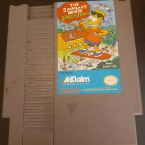 The Simpsons: Bart vs. The Space Mutants (Nintendo NES) Authentic Tested