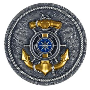 compass 2021 2oz silver antiqued coin