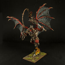 Warhammer  Age Of Sigmar Daemons of Chaos Bloodthirster Wrath of Khorne Painted