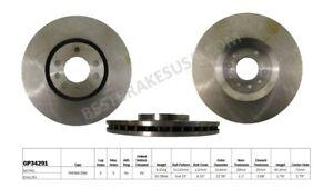 Disc-Brake-Rotor-fits-2006-2009-Saab-9-3-BEST-BRAKES-USA