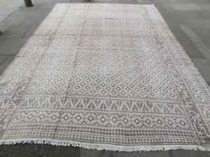 Old-Traditional-Hand-Made-Persian-Oriental-Cotton-Beige-Kilim-Ziloo-437x317cm