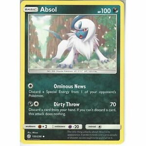133-236-Absol-Uncommon-SM12-Cosmic-Eclipse-Pokemon-Trading-Card-Game-TCG