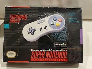 Nintendo-Super-NES-SNS102-Gamepad-InterAct-New-Sealed
