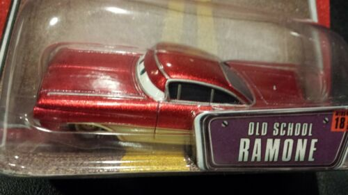 DISNEY PIXAR CARS viejo SCHOOL CRUISIN RAMONE woc ahorre 6/% GMC