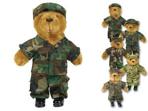 Mil-Tec Teddyanzug für Teddy Groß Teddybär Kuschelbär Plüschbär Bärenbekleidun<wbr/>g