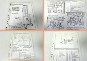 Betriebsanleitung-Ersatzteilliste-Genkinger-BEG1016-Stapler-ca-1976