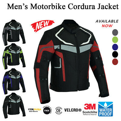 Motorbike Jackets Motorcycle Bike Rider Waterproof High Quality Designer Coat Shirt Gears Bartack Sewed All Weather Jacket for Mens Adults Boys Small