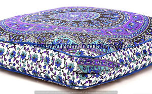 Large-Indian-Ombre-Mandala-Floor-Pillows-Cushion-Covers-Square-Ottoman-Daybed
