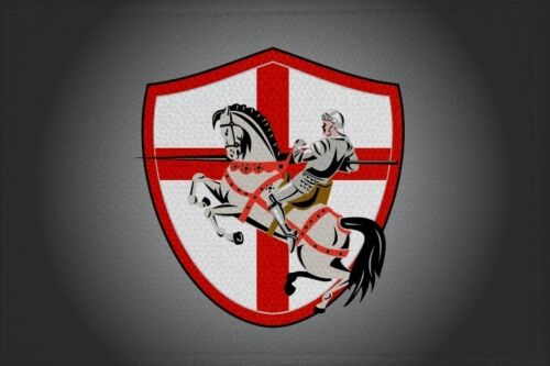 33 bandiera bandiera aufbügler Patch 9 x 6 cm Ricamate cavalieri motivo n