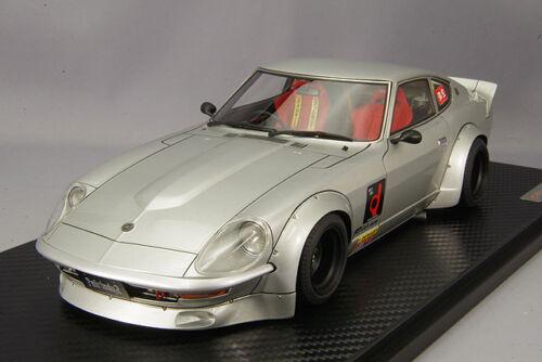 1//18 HPI IG ignition #IG0956 Nissan Fairlady 240ZG HS30 Full Works Silver