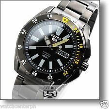 Seiko 5 Sports Automatic 24 Jewels 100M SRP363K1 Mens Watch