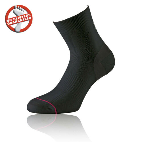 1000 Mile Ultimate Tactel Womens Black Breathable Training Running Anklet Socks