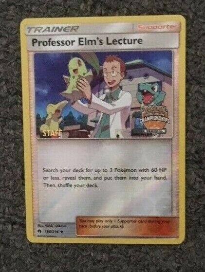 PROFESSOR ELM s LETURER Regional PERSONAL Promo 188  214