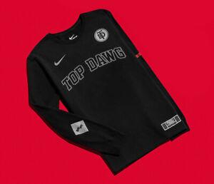 f330e3e5 Nike x TDE Top Dawg Black Long Sleeve T-Shirt Size L Championship ...