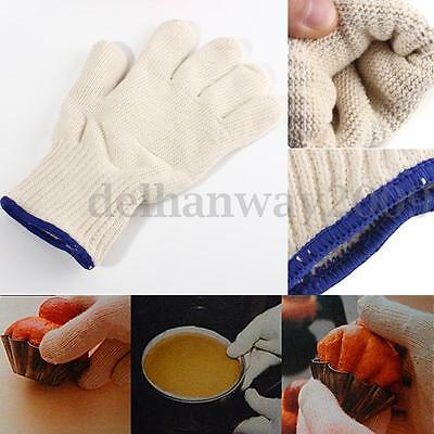540°F Heat Proof Resistant Oven Glove Mitt BBQ Fire Hot Surface Handler Protec