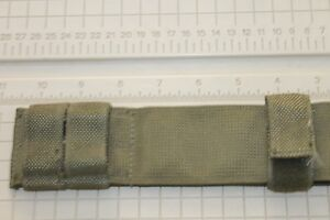 USED **DANISH MILITARY M-1 BELT HANGER BAYONET CANVAS FROG WITH FREE SHIPPING
