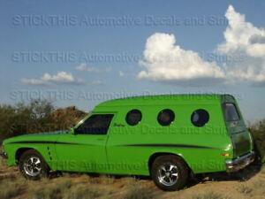 HQ-HJ-Sandman-Decals-Stripes-Stickers-Holden-Ute-Panelvan-Panel-Van-ANY-Colour