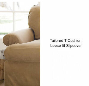 Pottery-Barn-T-cushion-Slipcover-LARGE-SOFA-VARIOUS-Colors