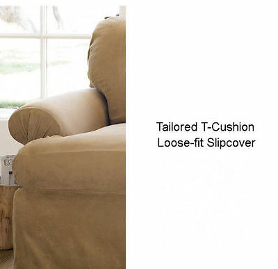Pottery Barn T Cushion Slipcover Love Seat Various
