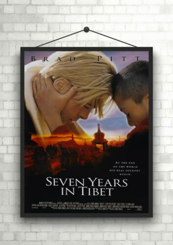 Seven Years In Tibet Classic Large Movie Poster Art Print Maxi A1 A2 A3 A4