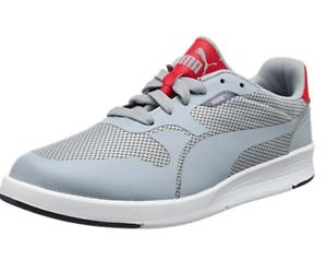 Puma Womens Junior Icra Evo Jr Low-Top Sneakers Sz-Grey RRP