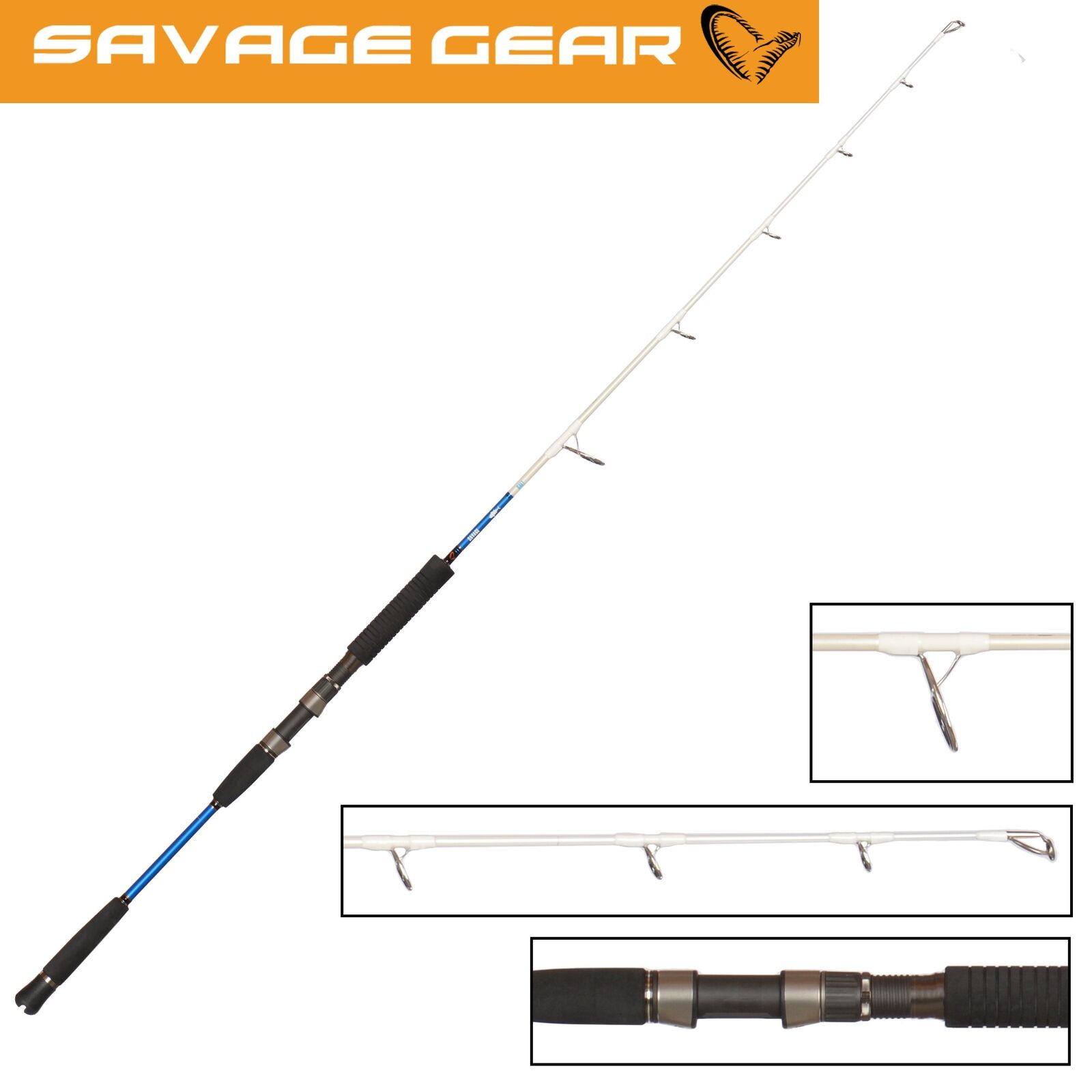 Savage Gear Salt 1DFR Slow Jigging - ML 183cm 80-150g - Jigging Meeresrute, Pilkrute 8373ec