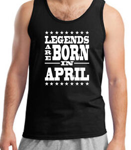 Men/'s Mens February Birthday Vest Training Gym Funny Celebration Gift Month